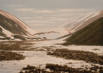 Free Picture of Snebrae at Advent Bay, Spitzbergen, Norway