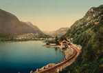 Free Picture of Waterfront Road, Dalen, Telemark, Norway,