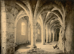 Free Picture of Basement of Chillon Castle in Switzerland