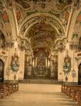 Free Picture of Church Interior at Einsiedeln Abbey, Switzerland