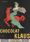 Free Picture of Chocolat Klaus - Woman on a Red Horse