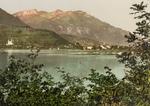 Free Picture of Village of Sarnen on Lake Sarner