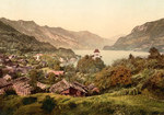 Free Picture of Ringgenberg on the Shore of Brienz Lake