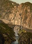 Free Picture of Devil's Bridge in Switzerland