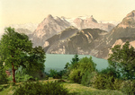 Free Picture of Mountains Near Lake Lucerne, Switzerland