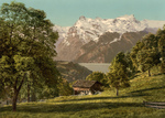Free Picture of House Near Lake Lucerne, Switzerland