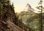 Free Picture of Gornergrat Railway Tunnel and Matterhorn, Switzerland
