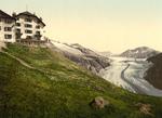 Free Picture of Belalp Hotel and Aletsch Glacier, Switzerland