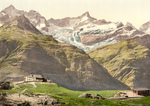 Free Picture of Riffelberg Hotel and Train Station, Valais