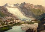 Free Picture of Glacier Hotel and Rhone Glacier