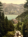 Free Picture of Hotel Giessbach and Brienz Lake, Switzerland