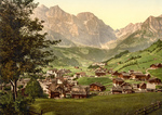 Free Picture of Engelberg Valley and Juchlipass in Switzerland