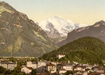 Free Picture of Interlaken and Jungfrau in Switzerland