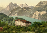 Free Picture of Building Near Lake Lucerne