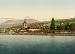 Free Picture of Evian Les Bains on Geneva Lake, Switzerland