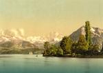 Free Picture of Boats on Lake Thun, Switzerland