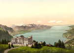 Free Picture of Hotel de Caux and Geneva Lake