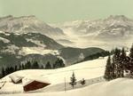 Free Picture of Rhone Valley in Winter, Switzerland