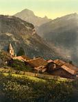 Free Picture of Village of Gryon, Switzerland