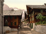 Free Picture of Principal Street in Champery, Switzerland