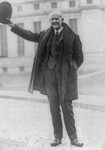 Free Picture of Eugene Victor Debs Waving His Hat