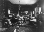 Free Picture of Edward Everett Hale and Woman in a Library