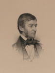 Free Picture of Ralph Waldo Emerson Facing Right