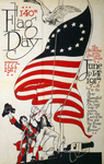 Free Picture of American Flag Day in 1917