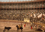 Free Picture of Bullfight in Barcelona