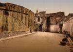 Free Picture of Street Scene in Fuenterrabia, Spain