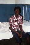 Free Picture of Patient Recuperating from Lassa Fever, Sitting On a Bed in the Male Ward of the Segbwema, Sierra Leone Clinic