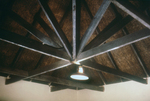 Free Picture of Ceiling of a Rondaval During a 1975 South African Marburg Virus Investigation