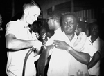 Free Picture of Togo Man Getting a Smallpox Vaccination