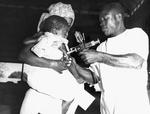 Free Picture of Togolese Child Getting a Smallpox Vaccine - 1967