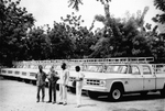 Free Picture of 1969  Truck Ceremony in Burkina Faso During the Worldwide Smallpox Eradication