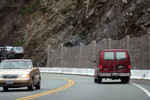 Driving by Rockslide Area