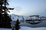 Evergreen Trees, Wizard Island, Crater Lake