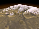 3-D View of Mars 01/01/1999