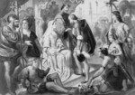 Columbus Being Greeted by King Ferdinand and Queen Isabella