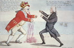 King George III Boxing With James Madison