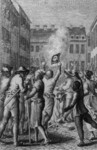 Burning of the Stamps in Boston, August, 1765