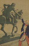 Uncle Sam Shaking Hands With the Marquis de Lafayette