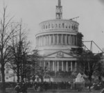 Inauguration of President Lincoln at U.S. Capitol