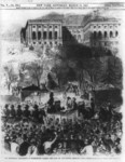 The Inaugural Procession at Washington Passing the Gate of the Capitol