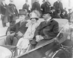 President Calvin Coolidge, Mrs. Coolidge and Charles Curtis
