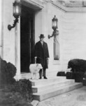 President Calvin Coolidge With Dog