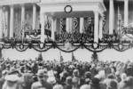 William H. Taft Administering the Oath of Office to Calvin Coolidge