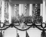 Calvin Coolidge Making Speech at his Inauguration