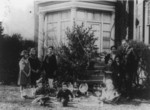 Bianchi and Family With Christmas Tree