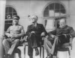 Roosevelt, Stalin and Churchill